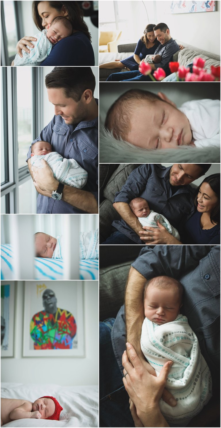 In Home Newborn Photography Session, by Katie Rain